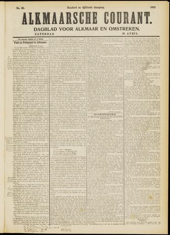 Alkmaarsche Courant 1913-04-26