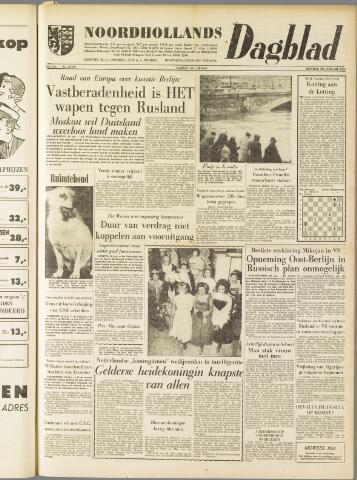 Noordhollands Dagblad : dagblad voor Alkmaar en omgeving 1959-01-20
