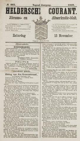 Heldersche Courant 1869-11-13