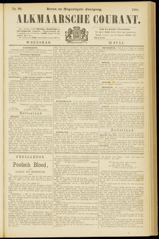 Alkmaarsche Courant 1895-07-31