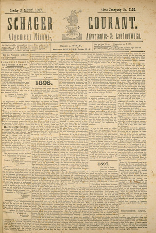 Schager Courant 1897