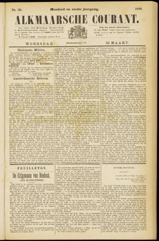 Alkmaarsche Courant 1899-03-22