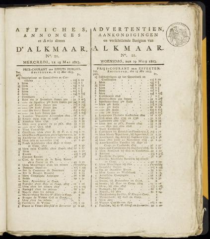 Alkmaarsche Courant 1813-05-19
