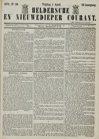 Heldersche en Nieuwedieper Courant 1870-04-01