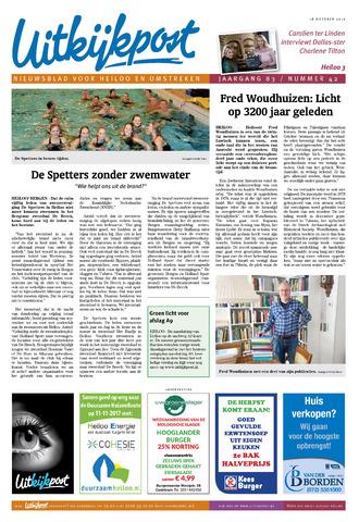 Uitkijkpost : nieuwsblad voor Heiloo e.o. 2017-10-18