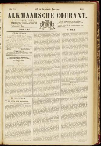 Alkmaarsche Courant 1883-05-25