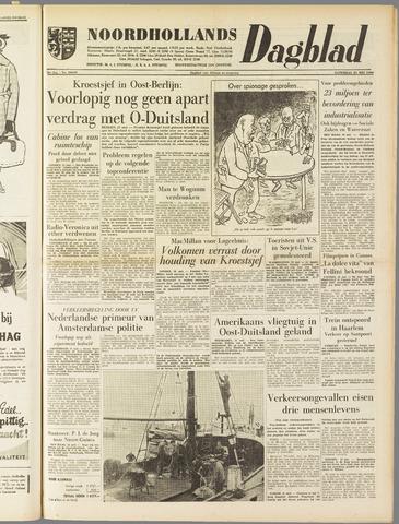 Noordhollands Dagblad : dagblad voor Alkmaar en omgeving 1960-05-21