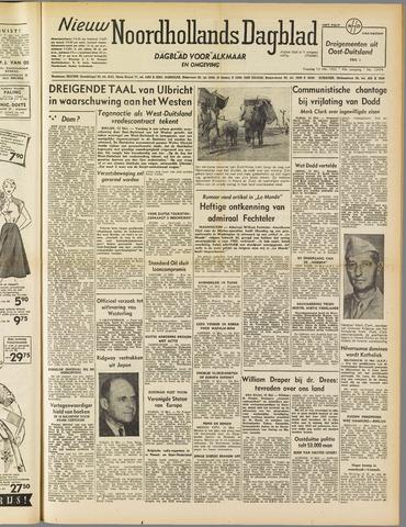 Nieuw Noordhollandsch Dagblad : voor Alkmaar en omgeving 1952-05-13