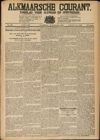 Alkmaarsche Courant 1930-08-16