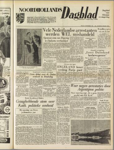 Noordhollands Dagblad : dagblad voor Alkmaar en omgeving 1954-11-19