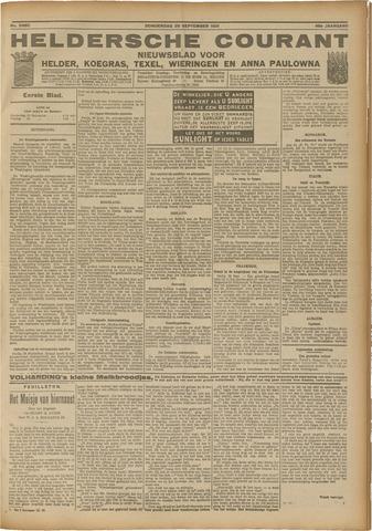 Heldersche Courant 1921-09-29