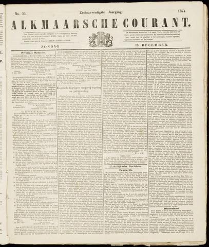 Alkmaarsche Courant 1874-12-13