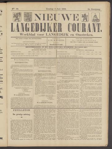 Nieuwe Langedijker Courant 1893-07-09