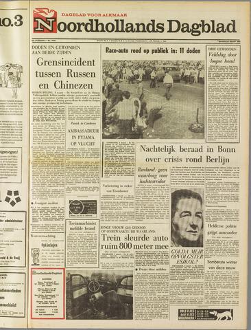 Noordhollands Dagblad : dagblad voor Alkmaar en omgeving 1969-03-03