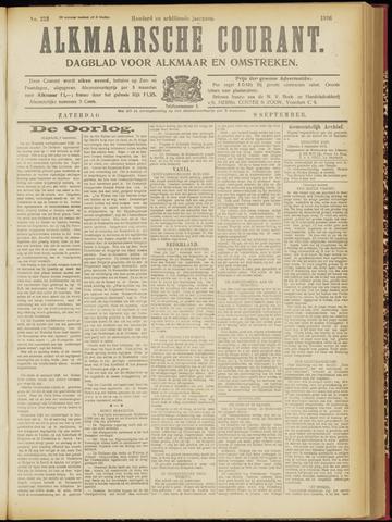 Alkmaarsche Courant 1916-09-09