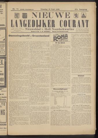 Nieuwe Langedijker Courant 1928-06-19