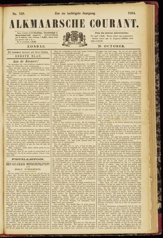 Alkmaarsche Courant 1884-10-26