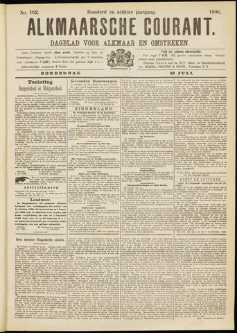 Alkmaarsche Courant 1906-07-12