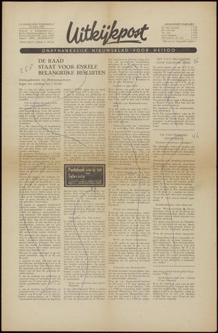 Uitkijkpost : nieuwsblad voor Heiloo e.o. 1956-07-20