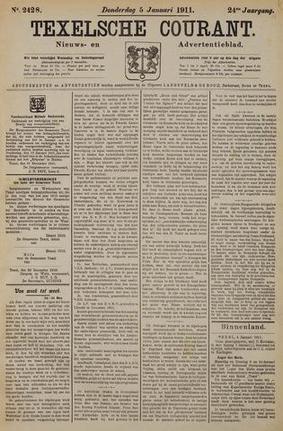 Texelsche Courant 1911-01-05