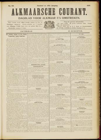 Alkmaarsche Courant 1909-08-21