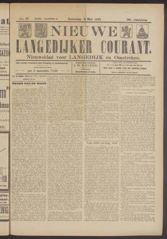 Nieuwe Langedijker Courant 1920-05-08