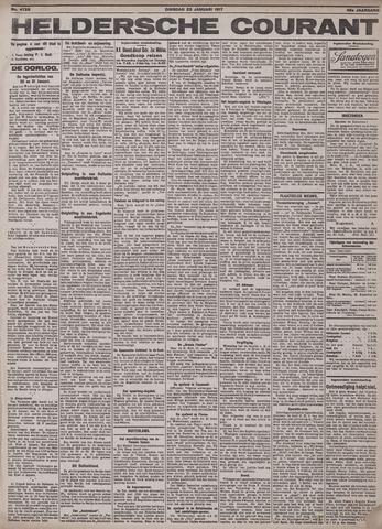 Heldersche Courant 1917-01-23
