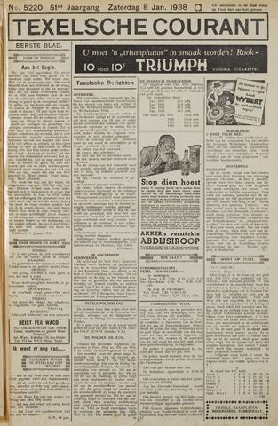 Texelsche Courant 1938-01-08