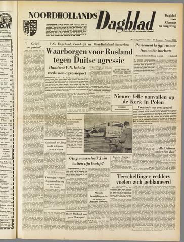 Noordhollands Dagblad : dagblad voor Alkmaar en omgeving 1953-10-07