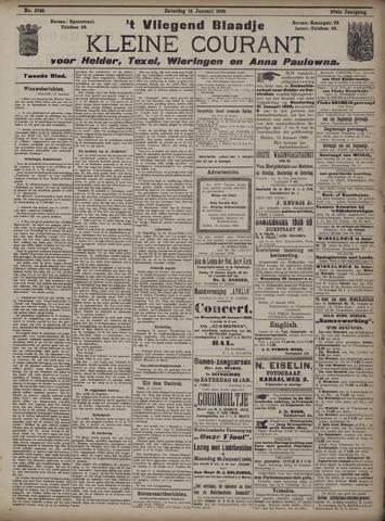 Vliegend blaadje : nieuws- en advertentiebode voor Den Helder 1909-01-16