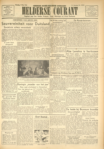 Heldersche Courant 1950-05-15