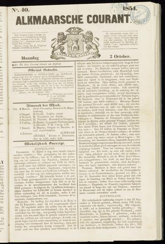 Alkmaarsche Courant 1854-10-02