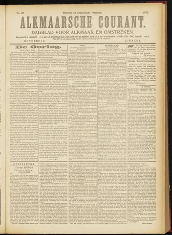 Alkmaarsche Courant 1917-03-15