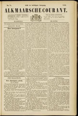 Alkmaarsche Courant 1886-06-20