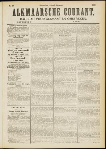 Alkmaarsche Courant 1913-04-03