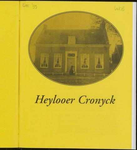 Heylooer Cronyck 1999-12-01