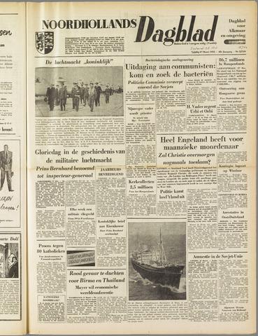 Noordhollands Dagblad : dagblad voor Alkmaar en omgeving 1953-03-28