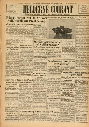 Heldersche Courant 1954-03-31