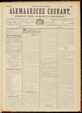 Alkmaarsche Courant 1911-06-30