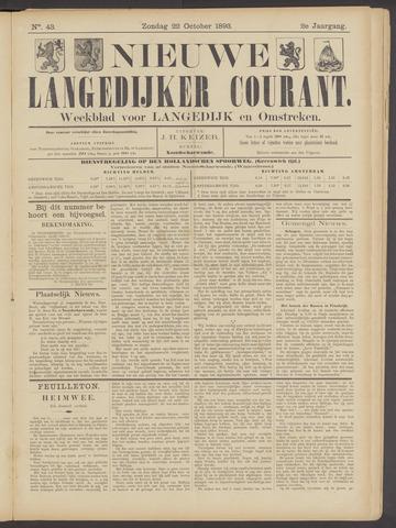 Nieuwe Langedijker Courant 1893-10-22