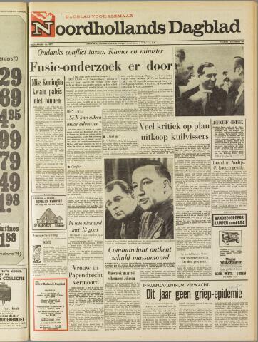 Noordhollands Dagblad : dagblad voor Alkmaar en omgeving 1969-12-05