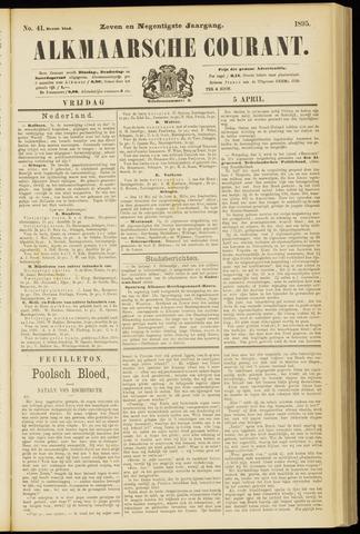 Alkmaarsche Courant 1895-04-05
