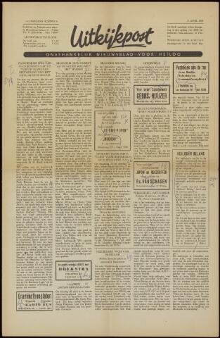 Uitkijkpost : nieuwsblad voor Heiloo e.o. 1958-04-11