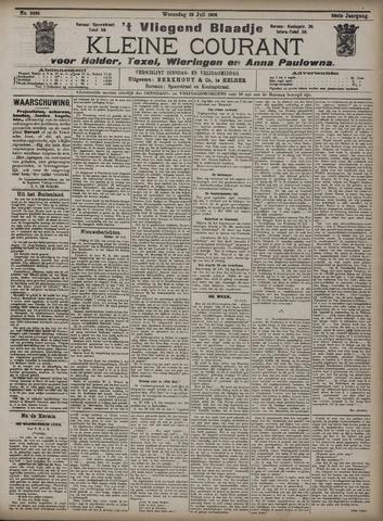 Vliegend blaadje : nieuws- en advertentiebode voor Den Helder 1908-07-29