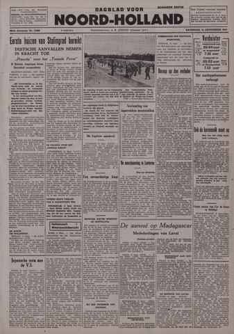 Dagblad Noord-Holland, Schager editie 1942-09-12