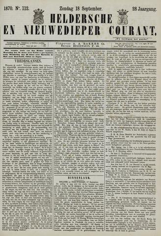 Heldersche en Nieuwedieper Courant 1870-09-18