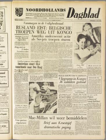 Noordhollands Dagblad : dagblad voor Alkmaar en omgeving 1960-07-21