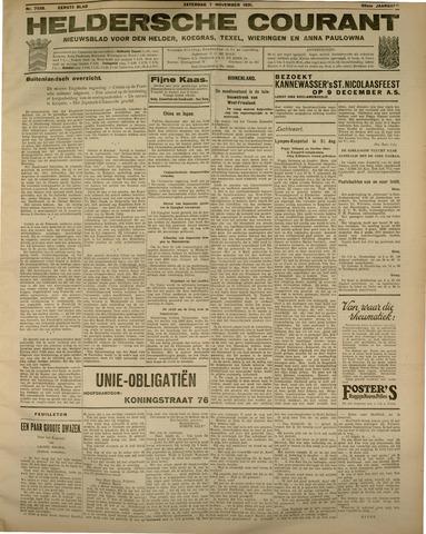 Heldersche Courant 1931-11-07
