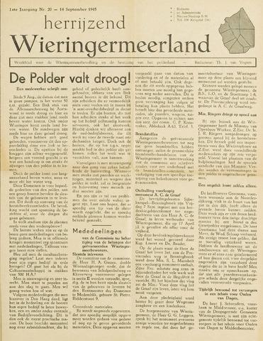 Herrijzend Wieringermeerland 1945-09-14