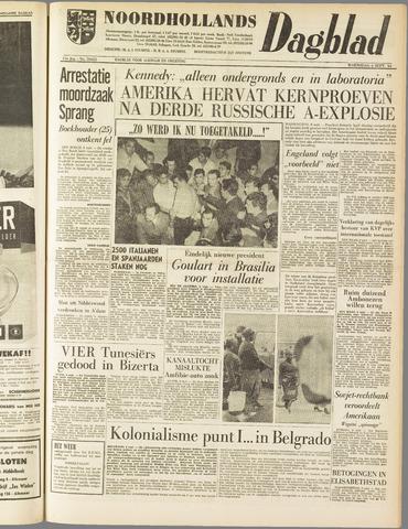 Noordhollands Dagblad : dagblad voor Alkmaar en omgeving 1961-09-06